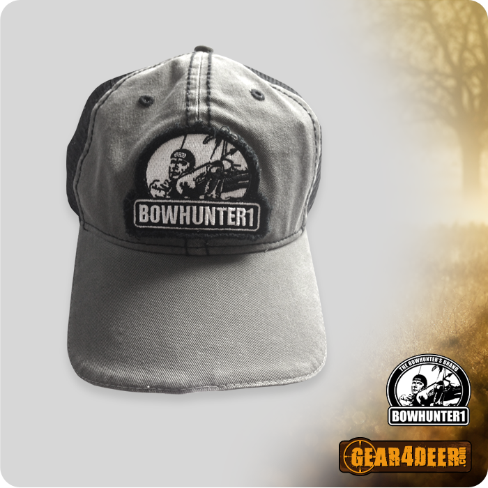 Bowhunter1 - Black and Grey Lighted Hunting Cap