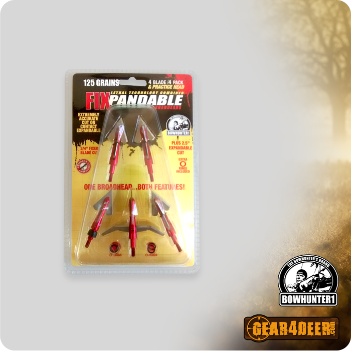 Bowhunter1 Broadheads for deer and big game hunting