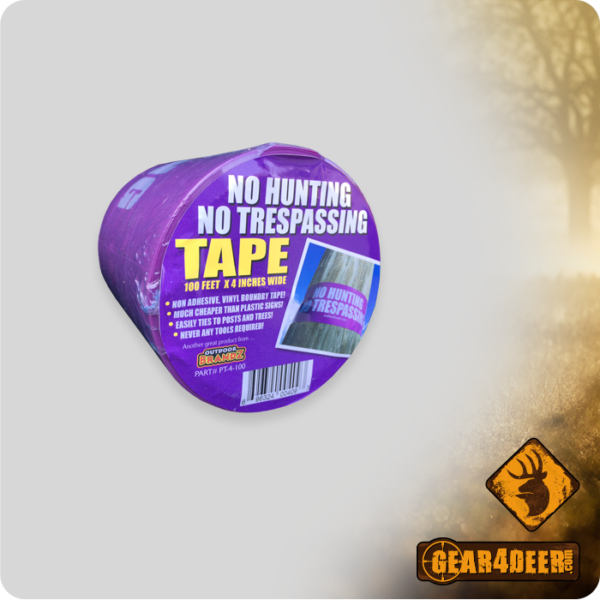 Purple - No Hunting No Trespassing Tape