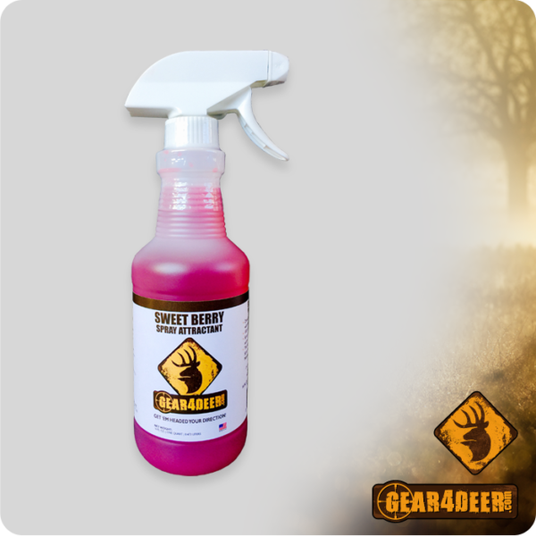 Gear4Deer Sweet Berry Spray Attractant