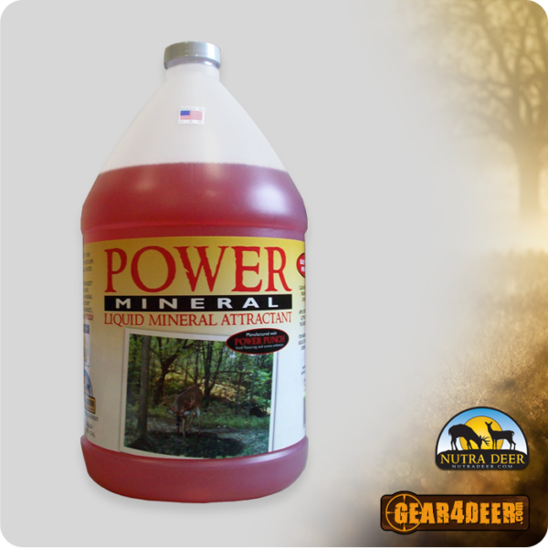 Nutra Deer Power Mineral - Liquid Mineral Attractant