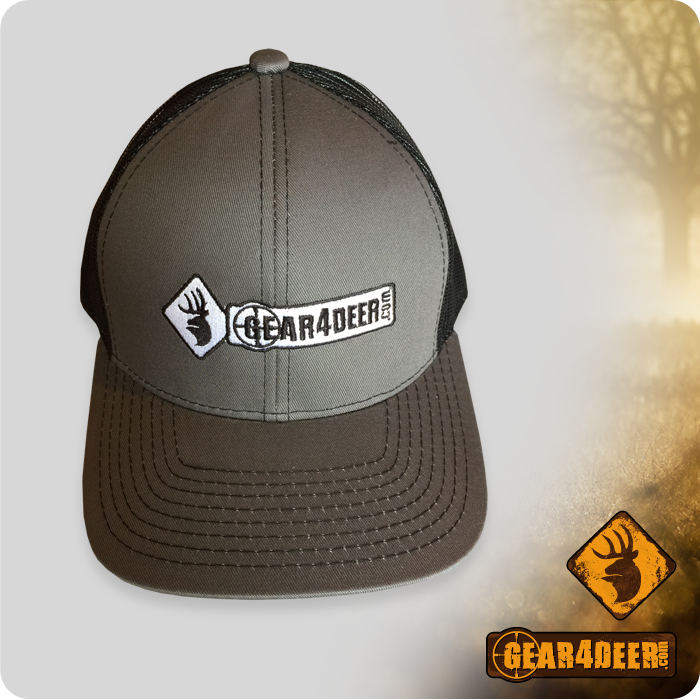 Gear4Deer Black and Grey Cap