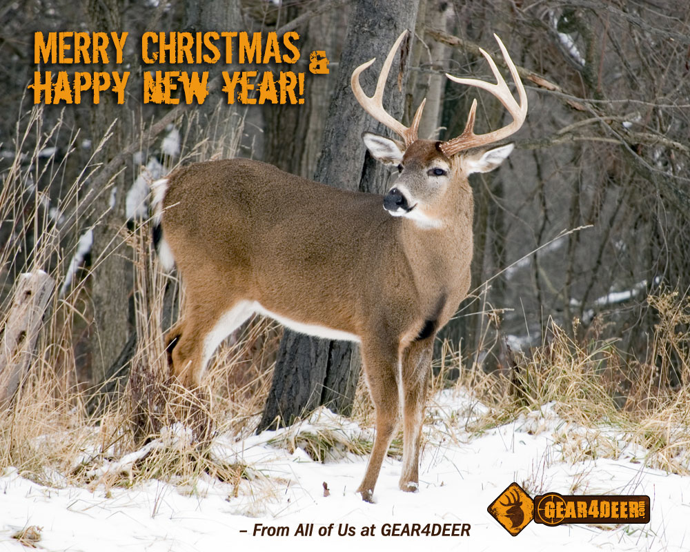 Merry Christmas from Gear 4 Deer